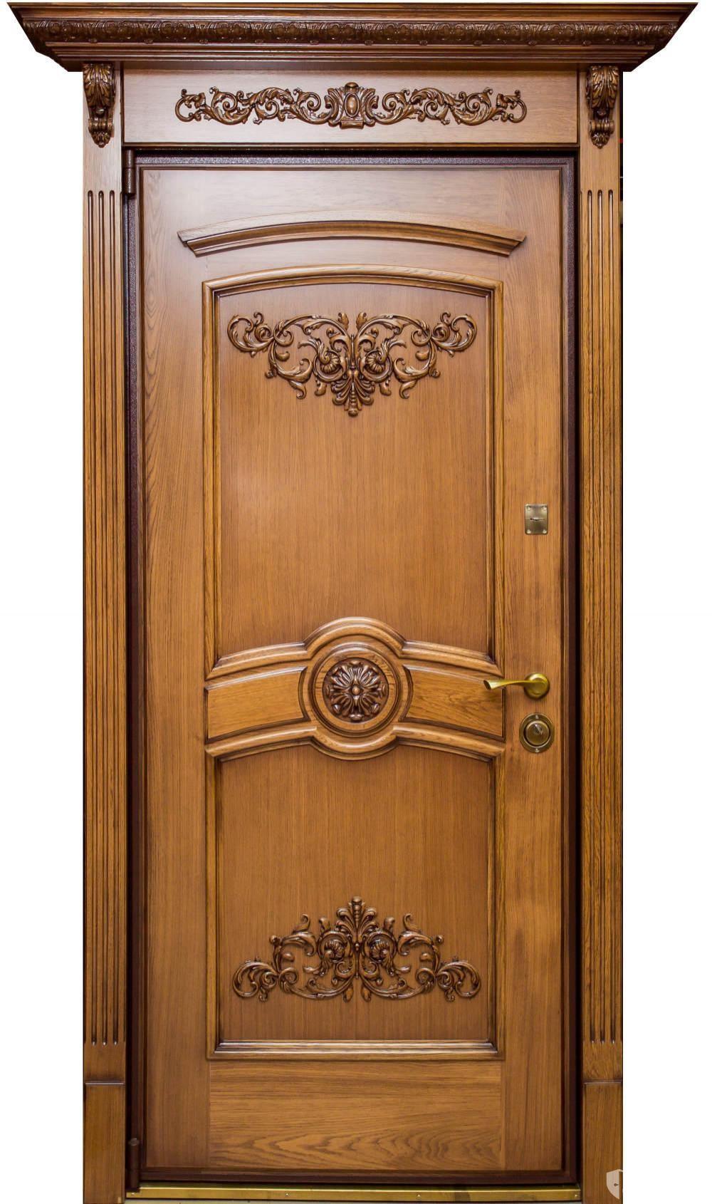 Элитные входные двери из массива фото